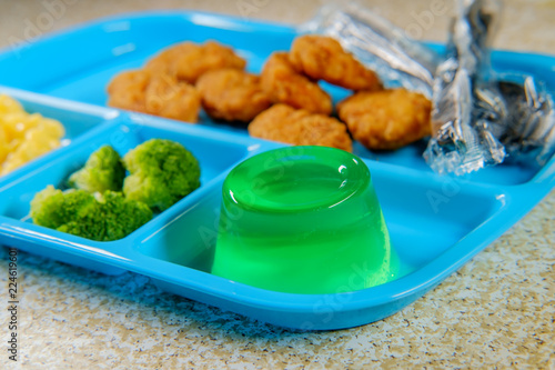 In de dag Assortiment Lunch Tray Chicken Nuggets