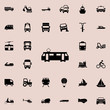 tram icon. transport icons universal set for web and mobile