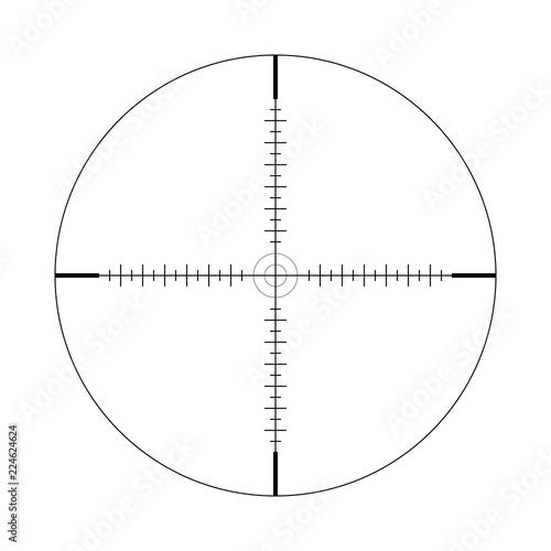 Fotografía  Sniper scope, scale