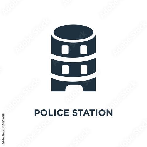 Fotografía  police station icon