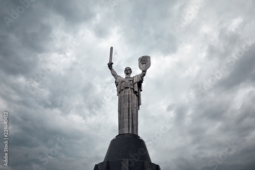 Fotobehang Kiev Mother Motherland in Kiev