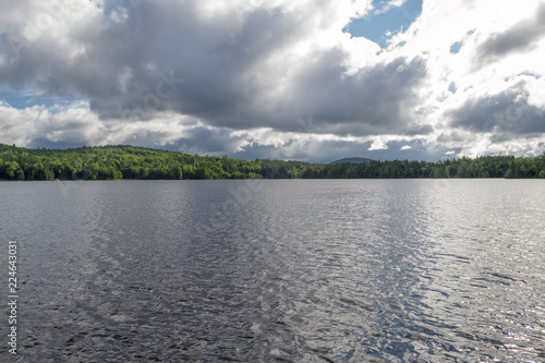 Tuinposter Meer / Vijver Indian lake at the Adirondack in upstate NY (USA)