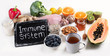 Leinwandbild Motiv Health  food to boost immune system