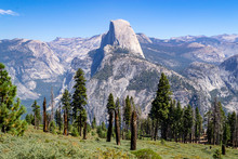 Half Dome From Glacier Point A...
