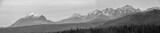 Panorama Tatr z Murzasichla