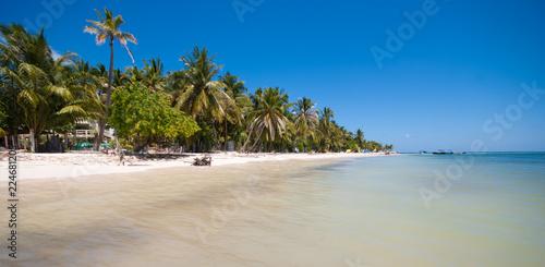 Caribbean beach in San Andres Island, Colombia Canvas Print