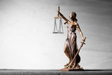 Themis statue, symbol of law and justice