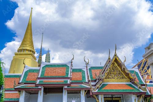 In de dag Bangkok タイ王宮(Grand Palace Thai)