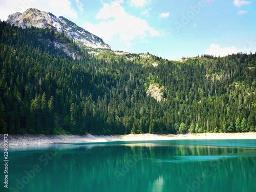 Poster Bergen Lake and mountain Montenegro