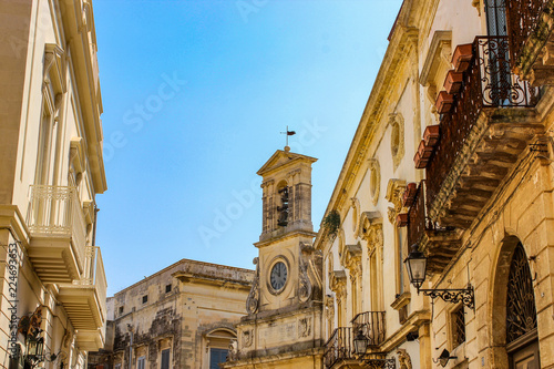 Fotografie, Obraz  the beautiful city of galatina, in Salento
