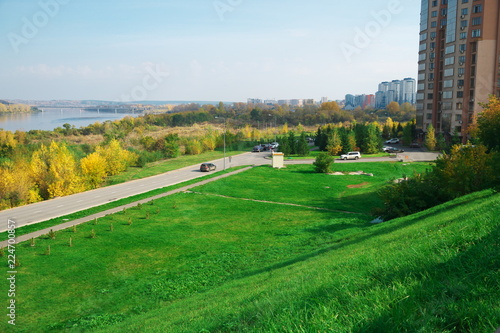 Deurstickers Groene Russia, Siberia, Kemerovo
