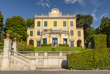Villa Margherita Grande Dates Back To The 1750s And Is In Fact Where The Famous Italian Composer Giuseppe Verdi Stayed And Composed La Traviata, Griante, Como Lake Italy.