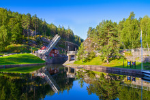 View Of The Telemark Canal Wit...