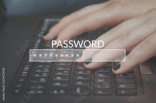 Cuadros en Lienzo Password