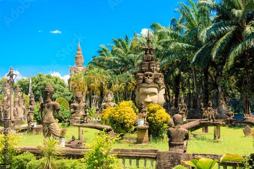 Buddha Park. Vientiane. Laos.