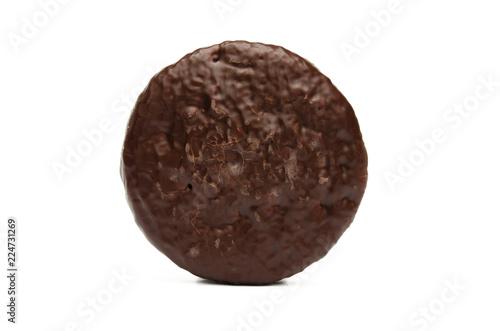 Foto Lebkuchen mit Schokolade überzogen