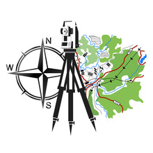 Geodesy And Cartography Illustration
