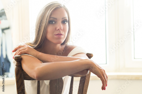 Photographie  Blond woman