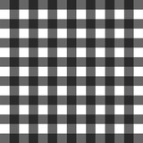 black and white gingham pattern - 224742651