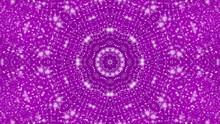 Abstract Purple Kaleidoscope Background. Geometric Figures. 3D Rendering