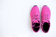 Pink Running Shoes For Women O...