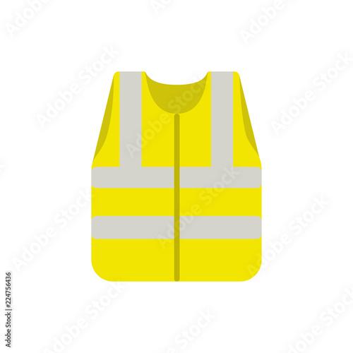 Yellow waistcoat safety Fototapeta