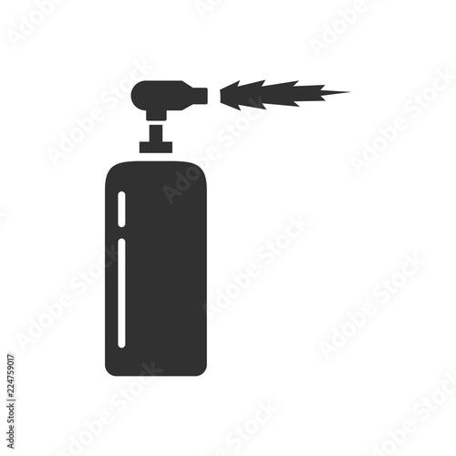 blowtorch. gas-burner Wallpaper Mural