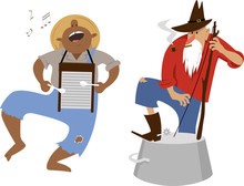 Country Western Folk Musicians...