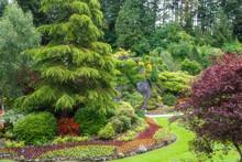 Butchart Gardens In Summer, Vi...