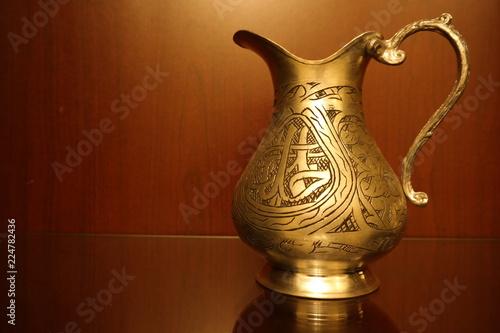 Fototapeta copper ornament obraz