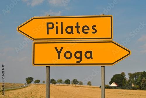 Fototapeta Pilates czy joga obraz