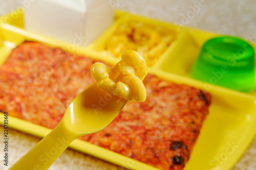 In de dag Assortiment School Lunch Tray Pizza