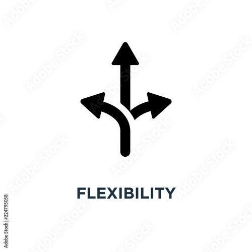 Fotografie, Obraz  flexibility icon. flexibility concept symbol design, vector illu