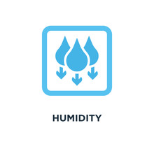 Humidity Icon. Water Level Dow...