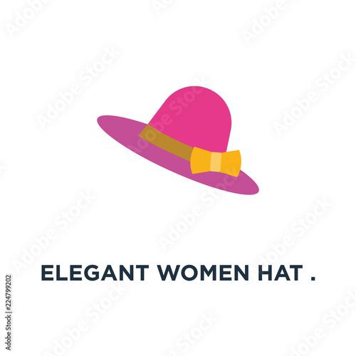Fotografie, Obraz  elegant women hat