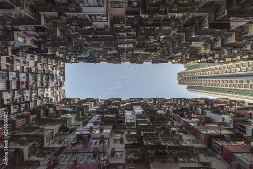 Fototapeta Crowded Hong Kong obraz