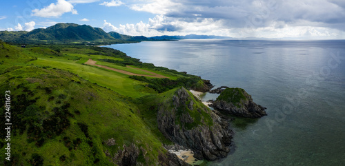 Cape Hirakubozaki in Ishigaki island