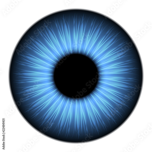 Blue eye texture for 3d modeling Fototapete