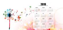 Calendar Planner 2019 Template...