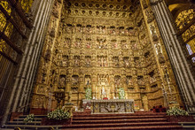 Altar Of The Cathedral Of Sevi...