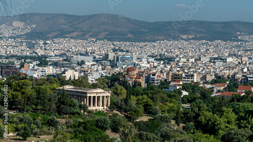 Temple of Hephaestus in the Agora of Athens Canvas Print