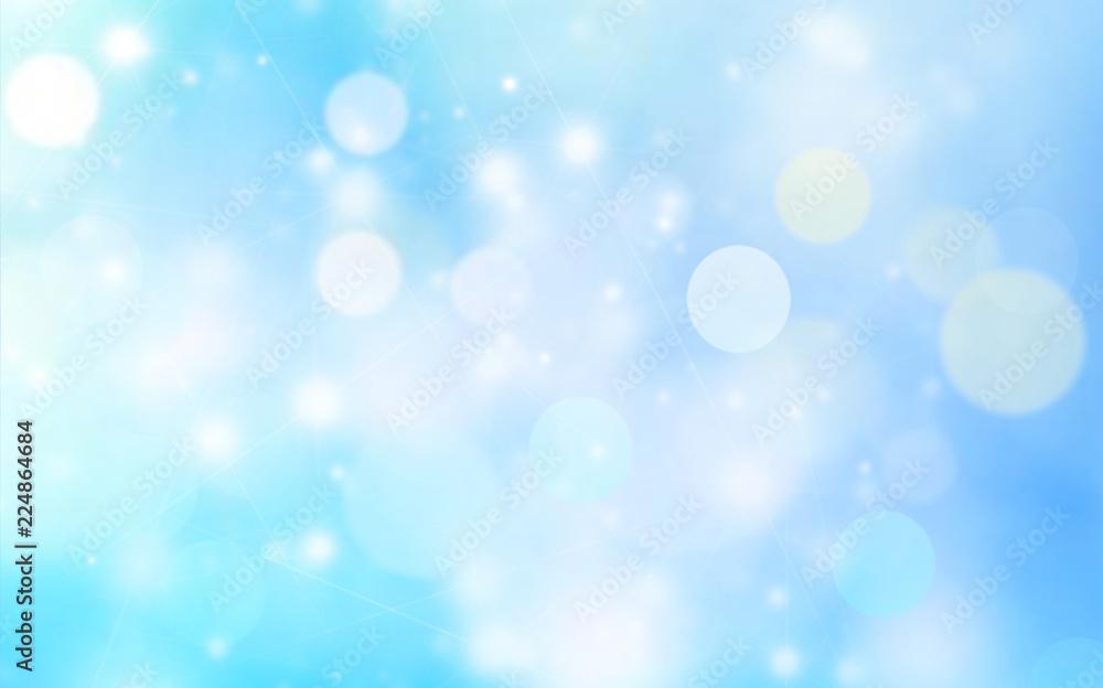 Fototapety, obrazy: Blue background blur