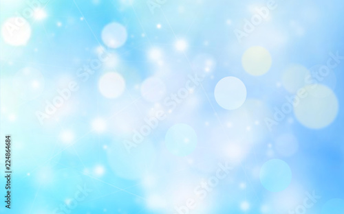 Pinturas sobre lienzo  Blue background blur