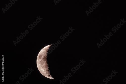Fotografía  Half Moon close up