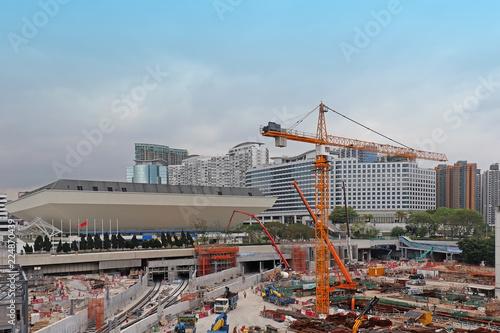 Foto op Plexiglas Large construction site