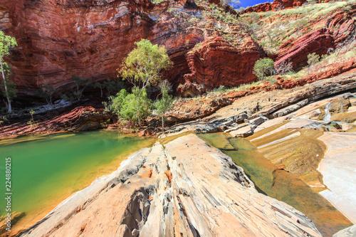 Hammersley Gorge rocky outback landscape