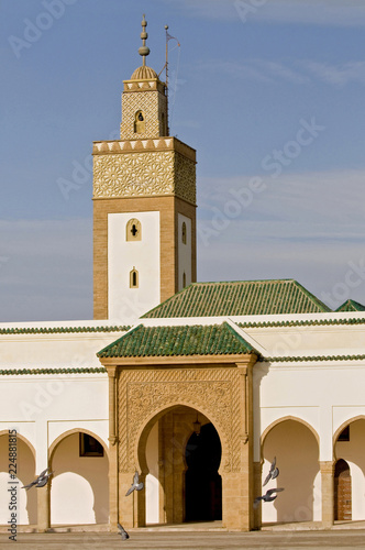 Foto op Plexiglas Marokko Dar-al-Makhzen is the primary and official residence of the king of Morocco. It is situated in the Touarga commune of Rabat.