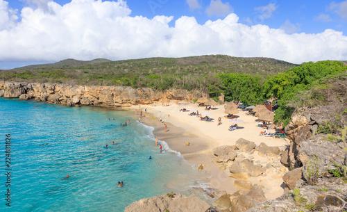 Kenepa Chiki Kleine Knip Beach In Curacao Buy This Stock