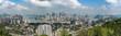 Skyline of Chongqing urban construction..