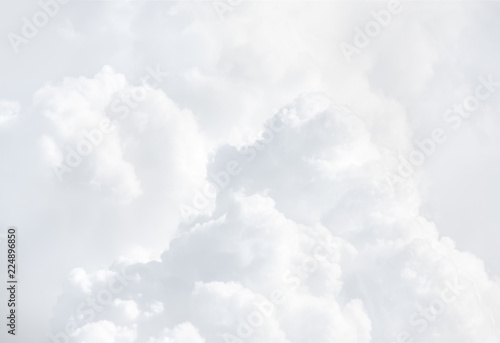 Tuinposter Hemel Abstract background with clouds